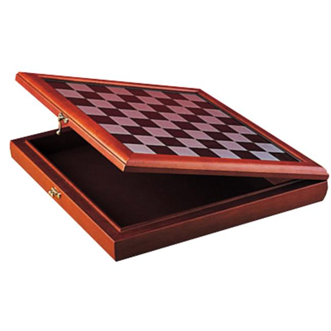 Chess Box with Board Game for 3-Inch Chess Set