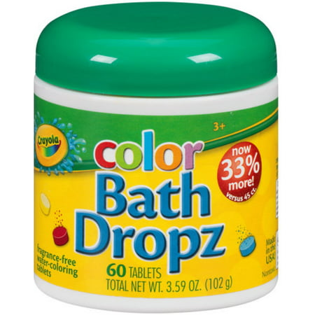 Crayola Color Bath Dropz 60 Ea  Pack Of 2