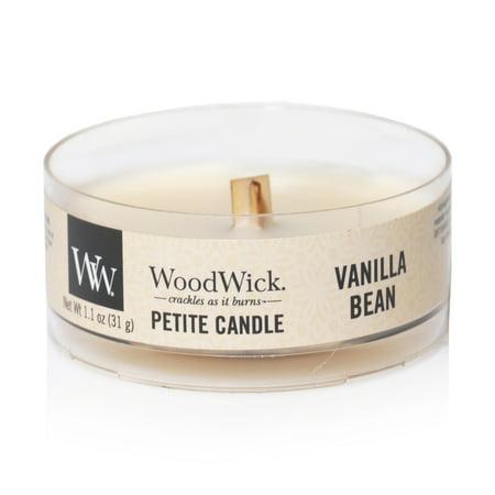 WoodWick Petite Vanilla Bean Candle