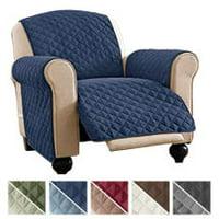 Recliner Medium:Dark Grey//Grey ASHLEYRIVER Recliner Chair Cover,Recliner Slipcover Recliner Covers for Dogs,Recliner Slipcover,Recliner Protector