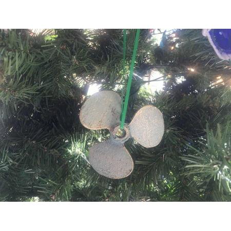 Classroom Door Decoration Ideas For Christmas (Antique Bronze Cast Iron Propeller Christmas Ornament 4