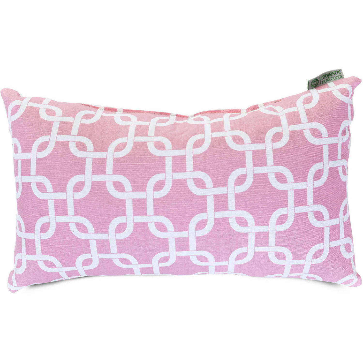 "Majestic Home Goods Links Small Decorative Pillow, 12"" x 20"""