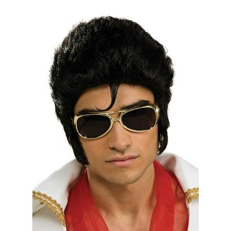 Elvis Wig Deluxe Adult Halloween Accessory