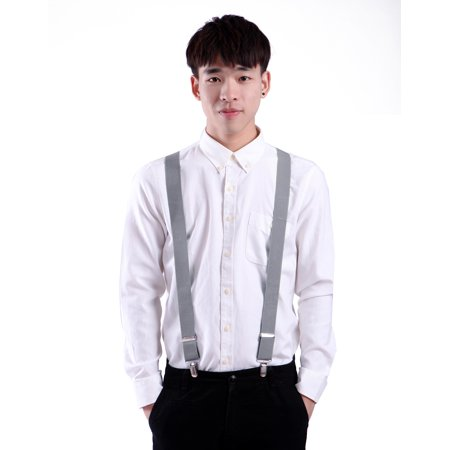 6d02cf21135 HDE - HDE Men s Big and Tall X-Back Clip Suspenders 1.5