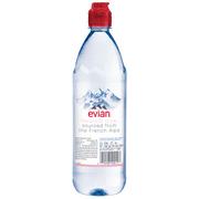 1755c01782 Evian Natural Spring Water, 750 ML, 12 Count - Walmart.com