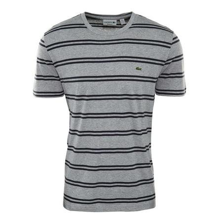 Lacoste Double Stripe Crewneck Tee Mens Style : Th2708-51