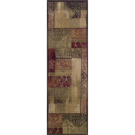 Oriental Weavers Generations Green  Beige Rug  23 X 76