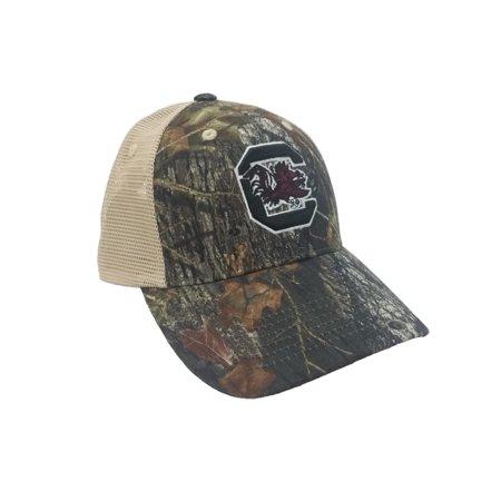 National Cap & Sportswear Collegiate Headwear Camo Collegiate Mesh Cap South Carolina Gamecocks