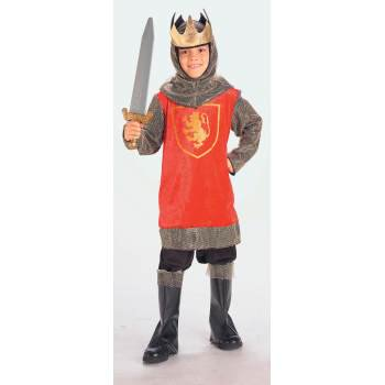 Child King Crusader Costume