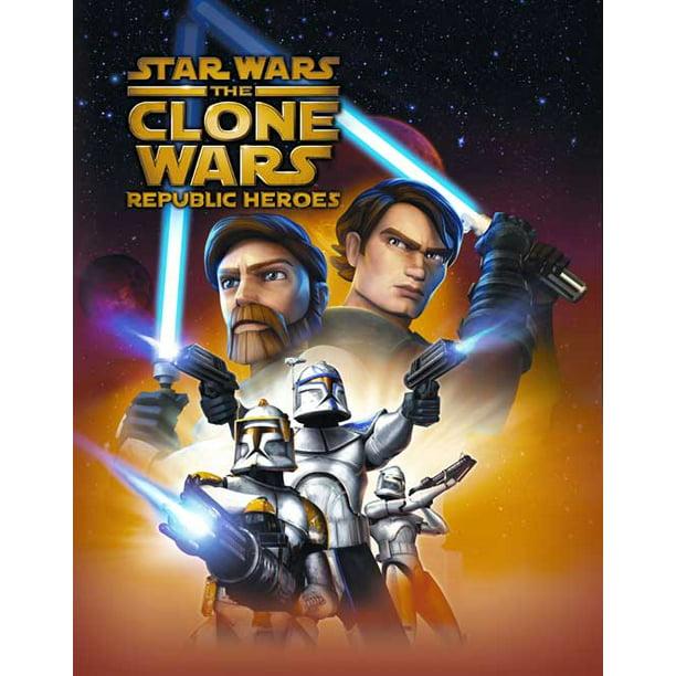 Star Wars The Clone Wars Movie Poster Style D 11 X 17 2008 Walmart Com Walmart Com