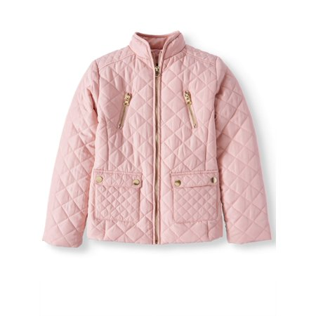 BHIP Quilted Zip Front Jackets with Snap Pockets (Big (Exterior Front Zip Pockets)