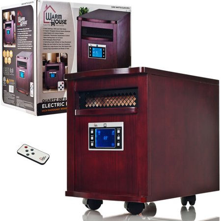 Warm House Portable Infrared Heater, Digital Readout 80-5531