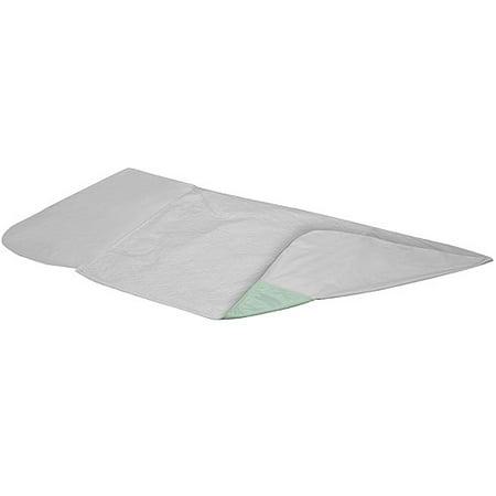 DMI 560-7064-0000 DMI Green Vinyls 4-Ply  Reusable Incontinent Draw sheet  36 x 40