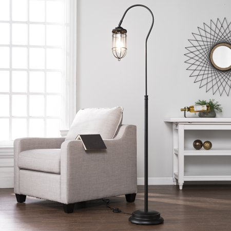 Southern enterprises terrance floor lamp contemporary style black southern enterprises terrance floor lamp contemporary style black aloadofball Gallery