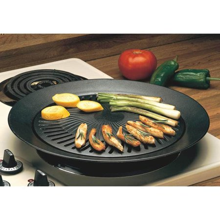 TagCo USA, Inc Black Smokeless Indoor Stovetop Barbecue Grill ()