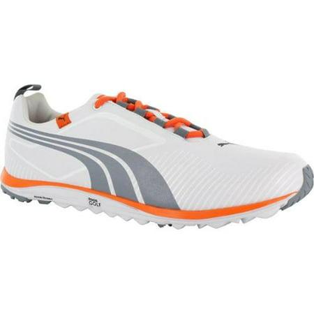 PUMA - Puma Men s FAAS Lite White  Tradewinds  Orange Golf Shoes 10.5  Medium - Walmart.com e7fa810fa