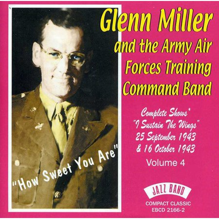 Glenn Miller & Army Air Force - How Sweet You Are [CD] - Glenn Miller Halloween