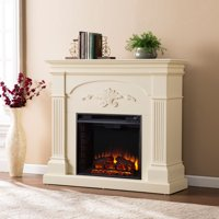 Chofyre Electric Fireplace, Ivory