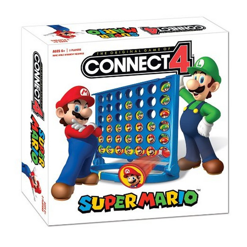Connect 4: Super Mario Edition