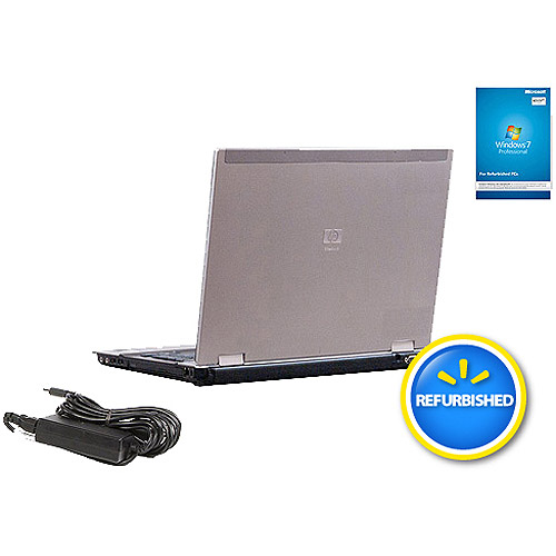"Refurbished HP 15.4"" 8530P Laptop PC with Intel Core 2 Duo Processor and Windows 10 Pro"