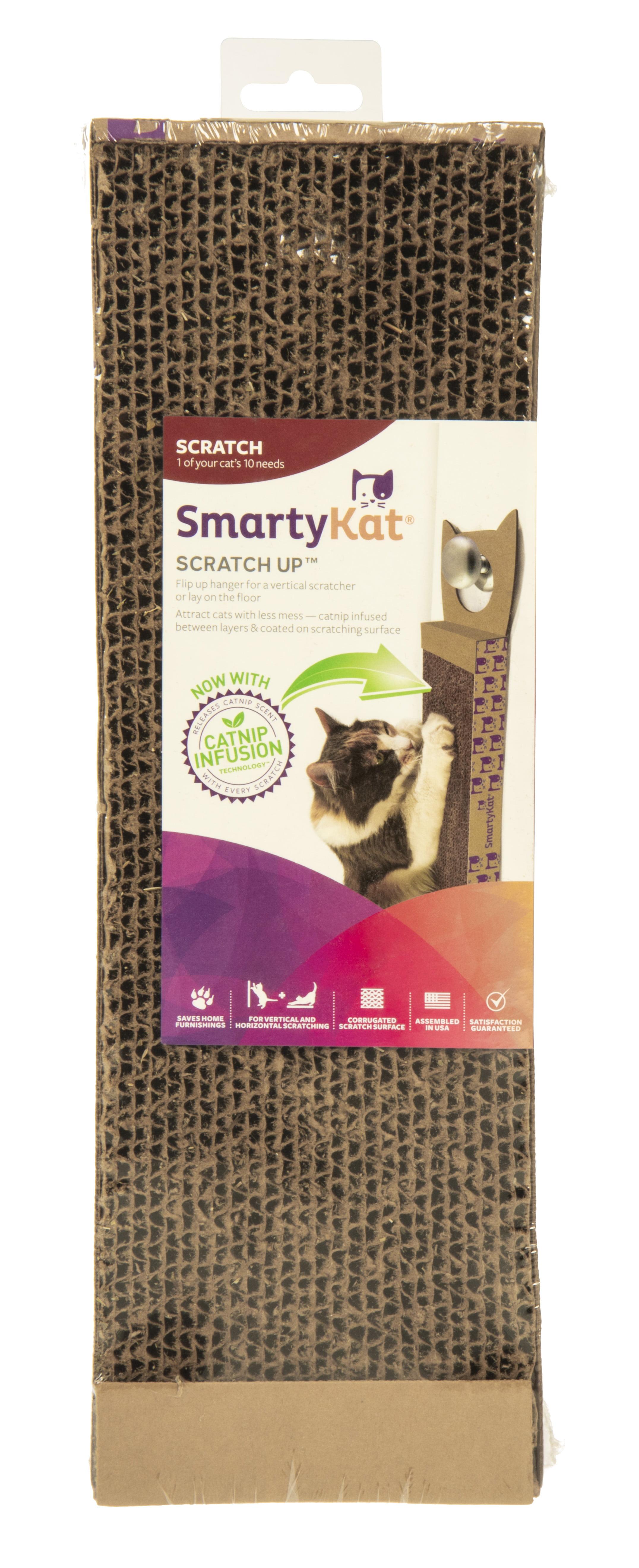 Scratch Up Catnip Infused Corrugated Hanging Cat Scratcher Walmart Com Walmart Com