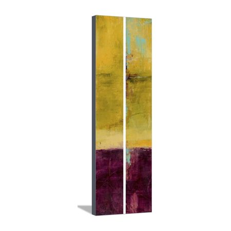 - Velvet Jade I (2-Up) Stretched Canvas Print Wall Art By Erin Ashley