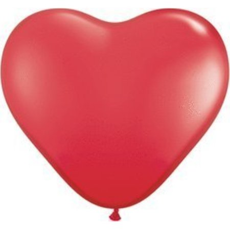 Qualatex Heart (BALLOON 6IN HEART QUALATEX RED)