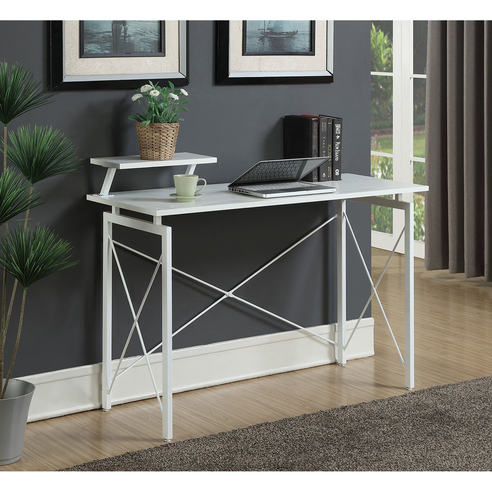 Convenience Concepts Designs2Go Carly Desk