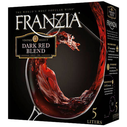 Franzia Dark Red Wine, 5 L
