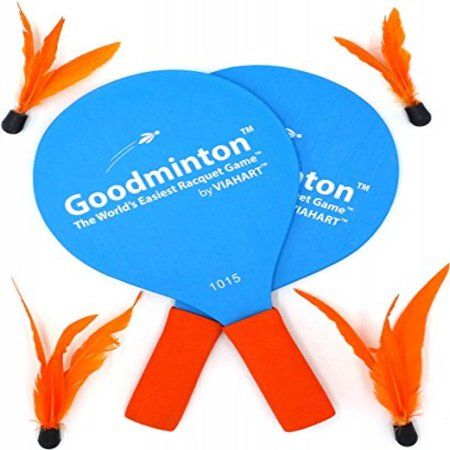 Goodminton | The World's Easiest Racket Game | An Indoor Outdoor Year-Round Fun Racquet Game for Boys, Girls, and People of All Ages - Boy And Girl Games