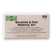 Pac-Kit Splinter and Tick Removal Kit