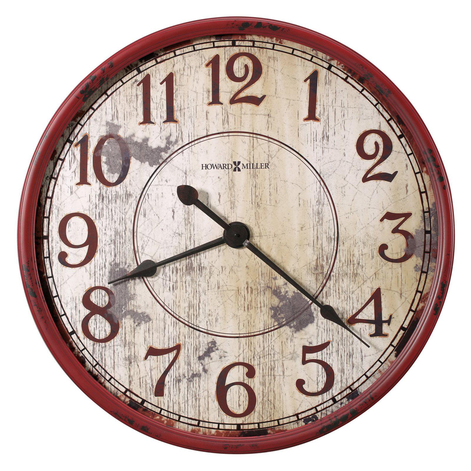 Howard Miller 32 in. Back 40 Wall Clock by Howard Miller