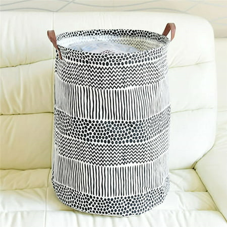 HIYAGON Laundry Basket with Strong Handles, 19.7