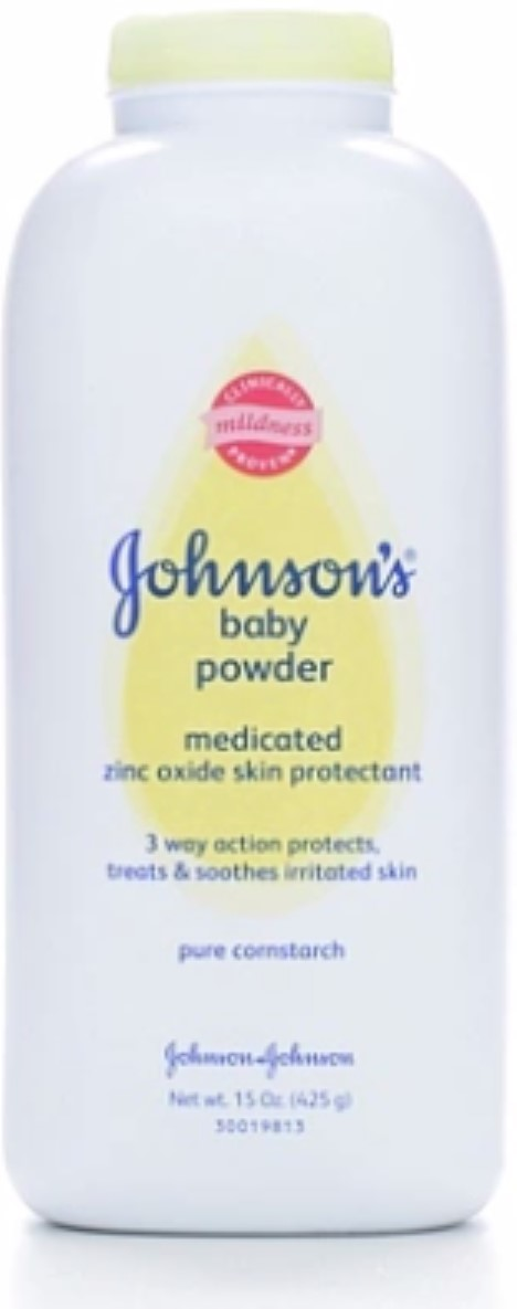 JOHNSON'S Medicated Baby Powder 15 oz (Pack of 3) by