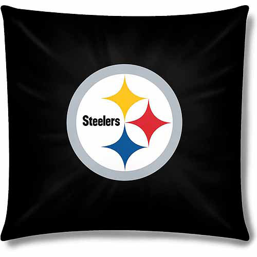 """NFL Pittsburgh Steelers Official 15"""" Toss Pillow"""