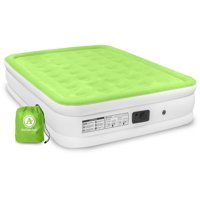 Air Comfort Dream Easy Queen Size Raised Air Mattress with Built-in Pump