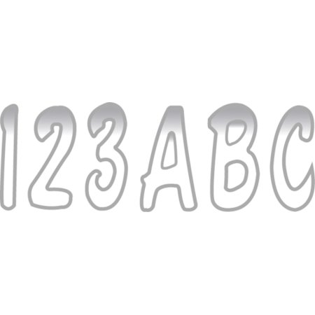 Hardline Letter Number Kit - Hardline 3001-1854 Hardline 200 Series 3