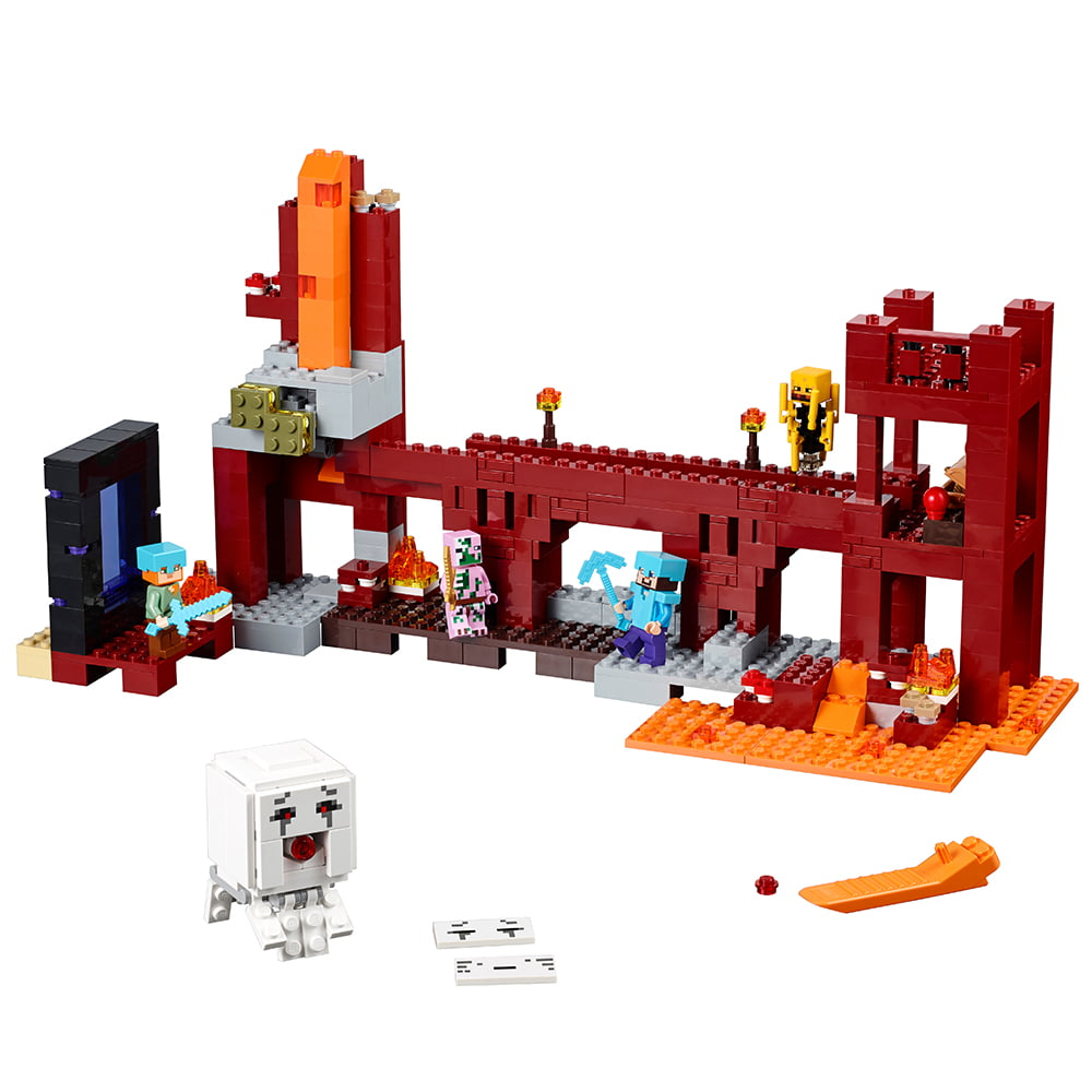 Lego Minecraft The Nether Fortress 21122 by LEGO System Inc
