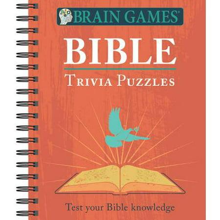 Brain Games Bible Trivia Puzzles