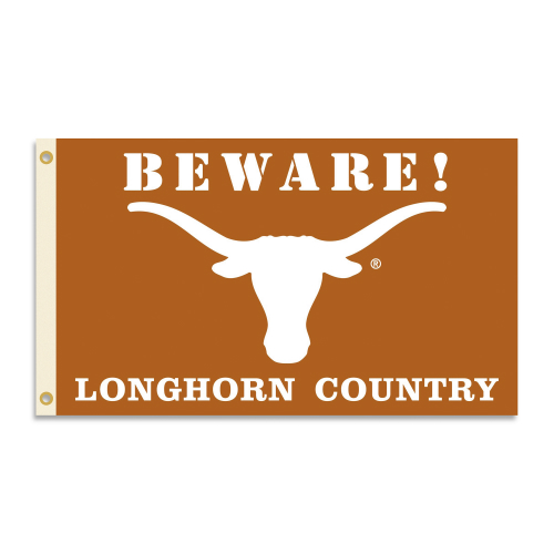 Bsi Products Inc Texas Longhorns Flag with Grommets - Country Flag with Grommets
