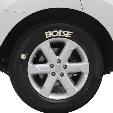 Boise State Broncos Tire Tatz - No Size (Best Tires For Early Bronco)