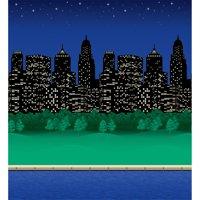 "Pacon® Fadeless® Design Roll, 48"" x 50', City Lights"