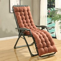 Deals on Kudosale 61-inch Patio Chaise Lounger Bench Cushion