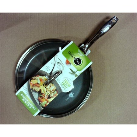 Greenpan Madison 12 Ceramic Non Stick Frypan With Lid