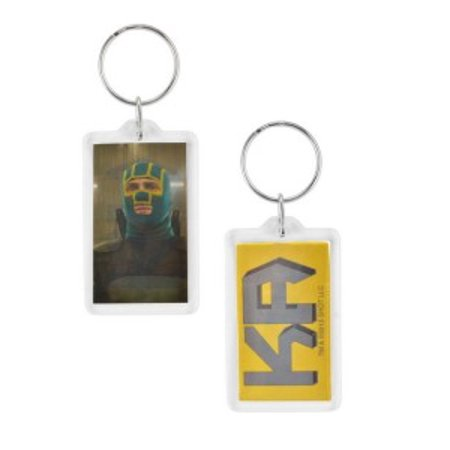 Key Chain - Kick Ass 2 - Lucite Keychain - New Licensed Toys 12049 - Kickass Suit