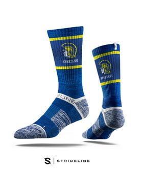 Maine-Endwell Spartans Blue Socks (L)
