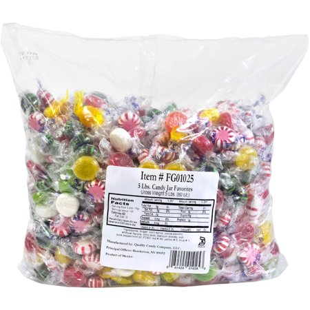 Quality Candy Candy Jar Favorites, 5 lbs](Jar Of Halloween Candy)
