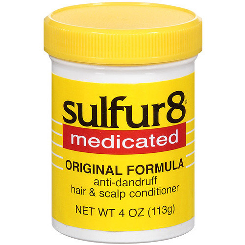 Sulfur8 Original Formula Anti-Dandruff Hair & Scalp Conditioner, 4 oz