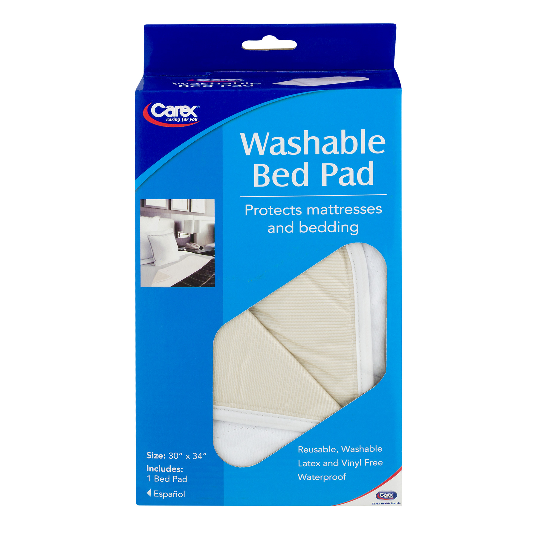 Carex Washable Bed Pad - 1 CT1.0 CT