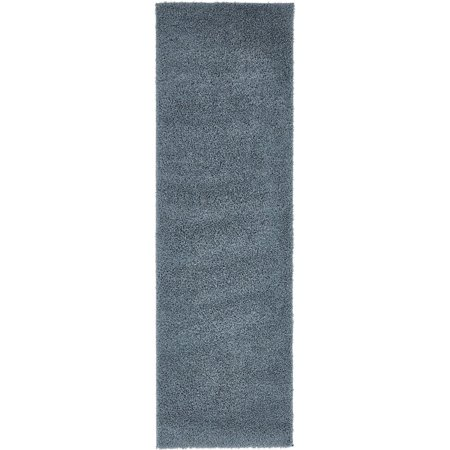 Shag Paramount Collection Area Rug in Multiple Color and Rectangle, Runner